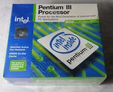 BRAND NEW Intel Pentium III Processor 800 MHz (BX80526H800256ESL4KF)