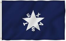 Lorenzo de Zavala Flag Republic of Texas Banner Polyester 3x5 Foot Flags