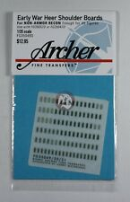 Archer 1/35 Early War Heer Shoulder Boards for Non-Armored Recon. Units FG35049D