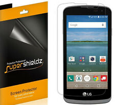 6X Supershieldz HD Clear Screen Protector Saver Shield For LG Optimus Zone 3