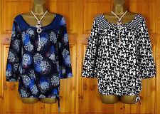 Debenhams Women's Plus Size Scoop Neck Casual Tops & Shirts