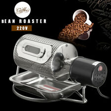 More details for ac 220v stainless steel coffee bean roasting machine coffee roaster roller