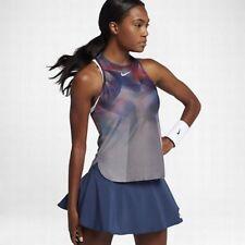 Tanque De Tenis Nike nikecourt seco Slam 854824-041 Platino Metálico Talla M Nueva