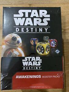 "Star Wars Destiny "" Awakenings "" Booster Box 36 Packs - New / Sealed Free Post"