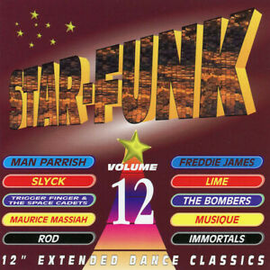 """V/A – Star-Funk Volume 12  New cd  Canada import.  12"""" Extended Dance Classics."""