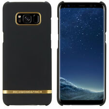 Richmond & Finch Black Satin Case for Samsung Galaxy S8