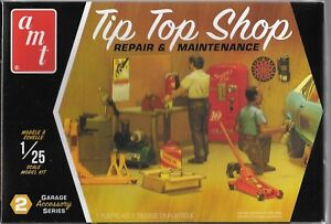 AMT TIP TOP SHOP Repair & Maintenance 2 Figures, Tools, Accessories 1/25 PP16 ST