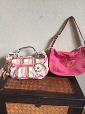 Lot Of Two Juicy Couture /coach Satchel Hobo Shoulder Purse Bag