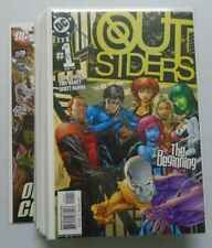 Outsiders 3rd Series lot:#1-24 Missing:#3,8,18, 8.0 VF (2003-05)