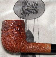 New Unsmoked Geppetto by Ser Jacopo Billiard Tapered Stem Fumee` - Gepetto Pipe