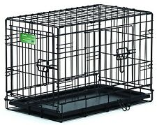 Double Door Folding Metal Crate - Home Travel Training System