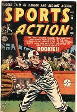 SPORTS ACTION #14---1952---BASEBALL---BOXING---OLYMPICS---ATLAS---RARE