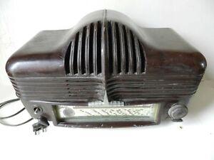 RARE ANCIEN POSTE de RADIO SONORA EXCELLENCE 301 dit «CADILLAC» 1947 BAKÉLITE