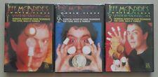Jeff McBride World Class Manipulation Card Magic 3 DVD Complete Set Series