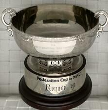 1990 TENNIS FEDERATION CUP Runner-Up Trophy granted by NATASHA ZVEREVA