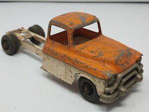 Vintage Hubley Kiddie Toy Logging Truck No. 494 no reserve