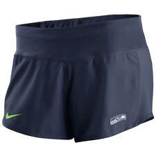 New Nike Women's Seattle Seahawks Gear Up Crew Performance Football Shorts Sz/ L
