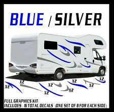 V1X Rv Trailer Hauler Camper Motor Home 16 Decal Kit Vinyl Graphics Lg Free Ship