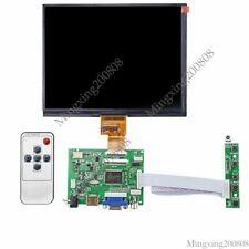 "HDMI VGA DVI Audio LCD driver board 8"" HJ080IA 01E 1024x768 IPS LCD panel"