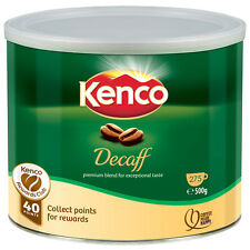 Kenco Decaffeinated Freeze Dried Instant Coffee by Jacobs Egberts - 500g - Decaf