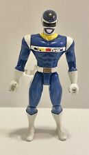 Vintage 1997 Bandai IN SPACE Mighty Morphin Power Rangers Blue Ranger Figure