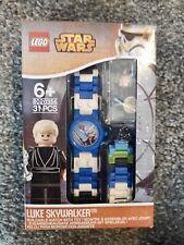Rare Lego Star Wars Luke Skywalker Watch with Minifigure 8020356  BNIB