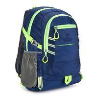 Waterproof BLUE Hi Vis Viz Rucksack High Visibility Backpack Hiking Gym Sports