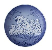 2015 Bing & Grondahl  Mother's Day Plate DALMATIONS New In Box