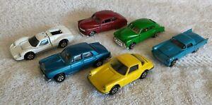 Vintage ERTL 1:64 Lot Porsche 911, Rolls Royce, Ford Mk IV, '57 T-Bird,'51 Chevy