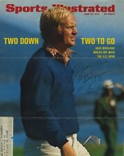 Jack Nicklaus - Golf - Signed Sports Illustrated Cover