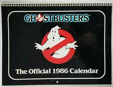 Ghostbusters Vtg 1986 Official Wall Calendar - Near Mint Unused Condition