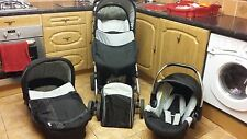 hauck condor travel system grey babies pram pushchair