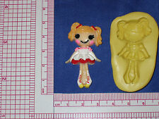 LalaLoopsy Silicone Mold Resin Clay Candy Bookscraping A491 Fondant Chocolate