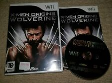 X-MEN ORIGINS : WOLVERINE  - Rare Nintendo Wii Game