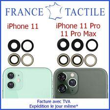Lentille + Adhésif Verre Caméra Appareil Photo pour iPhone 11 11 Pro 11 Pro Max