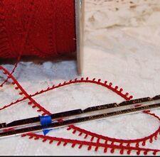Vintage 5mm Picot loop braid edge lace trim Ginny Dolls - various colors-