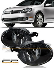 2010-2014 VW Volkswagen Golf Replacement Fog Light Lamp Housing Assembly Pair