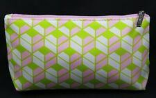 New CLINIQUE Cosmetic Case Cosmetic Bag  Makeup from USA-Geometric Green