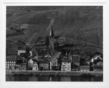 """HENRY GILPIN SIGNED 1978 EUROPEAN VILLAGE AND HILLSIDE 11""""X14"""" PHOTOGRAPH"""