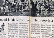 Coupure de presse Clipping 1964 Les Vins Postillon & la Madelon (2 pages)