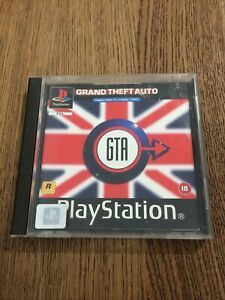 ps1 Grand Theft Auto London (PlayStation 1, 1999)