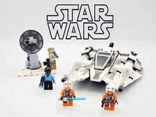 Star Wars Hoth Snowspeeder Set 333pcs + 4 Minifigures building blocks fit lego
