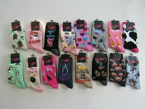 Hot Sox Womens Crew Socks Nwt