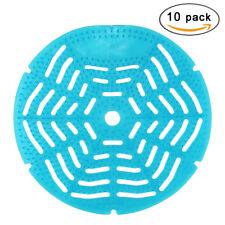 10 PCS Blue Urinal Screen Urine Deodorizer Long Lasting Scented Anti Splash