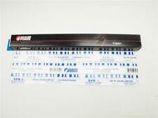 3x PLASTIGAGE Messstreifen 0.100-0.230mm blau Plastigauge 3x30cm Gleitlager 90cm