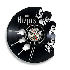Beatles Liverpool City Vinyl Record Wall Clock - British Music Band Fans Party