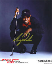TIGER WOODS Golf Signed Original Autographed 8x10 Photo COA