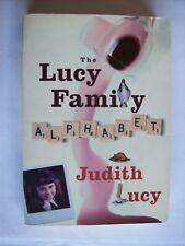 Judith Lucy ~ The Lucy Family Alphabet (A Memoir) 2008 Large PB VGC