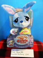 MGA Rescue My Pets E Pets Blue Bunny plush(310-1121-1)