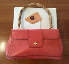 Monsac vtg leather handbag